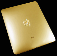 Solid Gold Diamond-Encrusted iPad Sells For $190,000