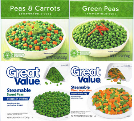 Some Walmart, Kroger Store-Brand Peas & Mixed Vegetables Recalled Because You Are Not Supposed To Eat Glass