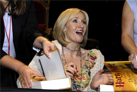 J.K. Rowling Sues To Stop Publication Of Fan-Written Potter Reference Book
