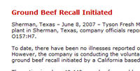 Lawsuits: Tyson Ground Beef Sold by Walmart Put Me In The Hospital