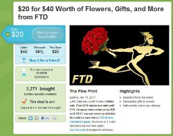 Groupon & FTD Offer Refund For Controversial Valentine's Day Deal