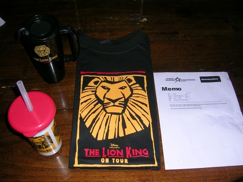 The Lion King Sent All This Stuff To A Hospitalized Reader