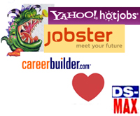 4 Typical DS-MAX MLM Scam Job Ads Found On Monster, HotJobs, CareerBuilder And Jobster