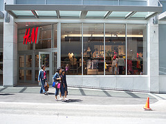 H&M Store Cuts Up Unsold Clothing, Throws It Away