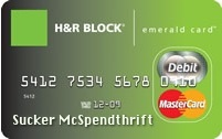 H&R Block's Refund Anticipation Loan Card Eats Your Refund