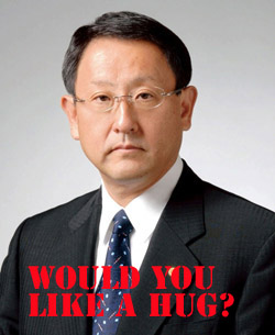 Toyota Boss Akio Toyoda Feels Your Pain