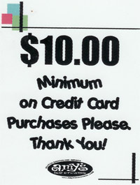 Requiring Minimum Credit Card Purchases is a Violation