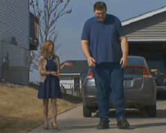 Reebok Finally Gives Free Shoes To America's Tallest Man After He Raised $37K