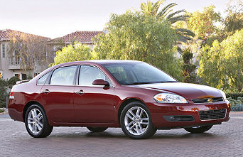 GM Recalls 322,000 Chevy Impalas Over Seat Belt Screw-Up