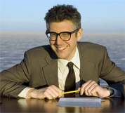 Ira Glass Rescues Coworker From MCI Hell