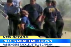 "JetBlue Pilot Suspended From All Duties After Mid-Flight ""Panic Attack"""