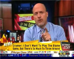 """Crazy"" Jim Cramer Takes This Opportunity To Gloat"