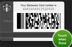 Want A Starbucks? Use Jonathan's Card