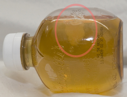 Martinelli's Apple Juice: Now With Mold!