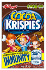 Cocoa Krispies No Longer Prevent Swine Flu