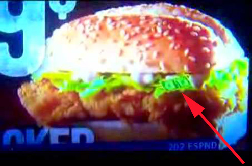 Subliminal Advertising KFC Wants You To Think Theres Money In Your Sandwich Consumerist