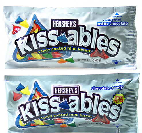 "Hershey's ""Kissables"" No Longer Legally Considered ""Milk Chocolate""?"