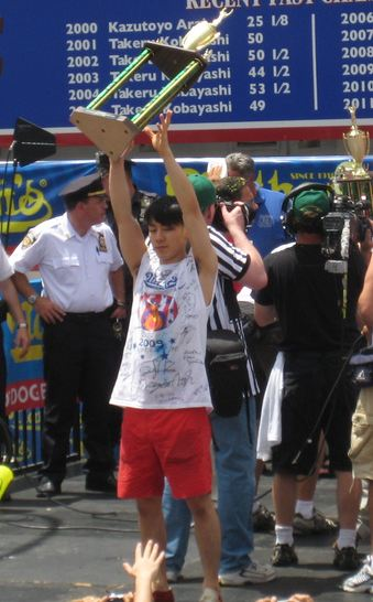 6-Time Coney Island Hot Dog Champ Kobayashi May Bail On July 4 Eat-Off