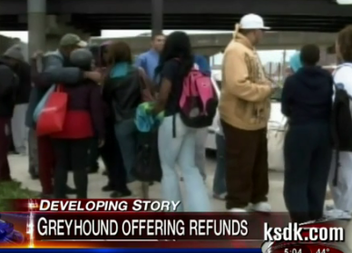 Greyhound Passengers Stranded 100 Miles From Destination After Driver Flees Bus
