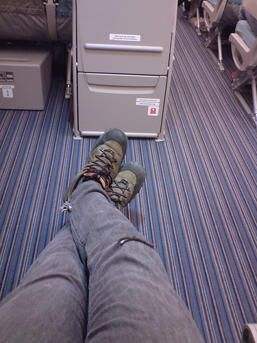 Continental Realizes Exit Row Seats Have More Legroom, Charges More For Them
