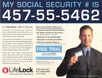 LifeLock Settles With FTC For $11 Million Over False ClaimsIn Ads