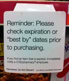 If CVS Sells You Something Expired, It's Your Own Damn Fault
