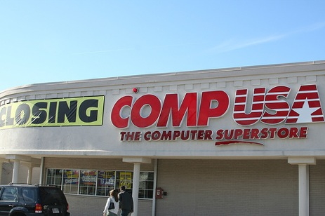 CompUSA Refuses To Accept Cash
