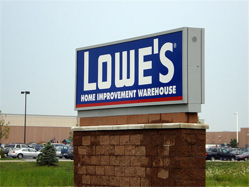 Lowe's Self Check Out Is Apparently Just A Huge Pain In The