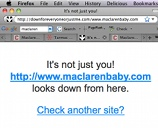 Maclaren's Site Is Down, Felled By Onslaught Of Recalled Stroller Concerns?