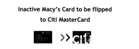 Got An Inactive Macy's Store Account? Here's Your New Citibank Mastercard