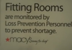 Macy's Admits It's Totally Peeping On You In The Fitting Room