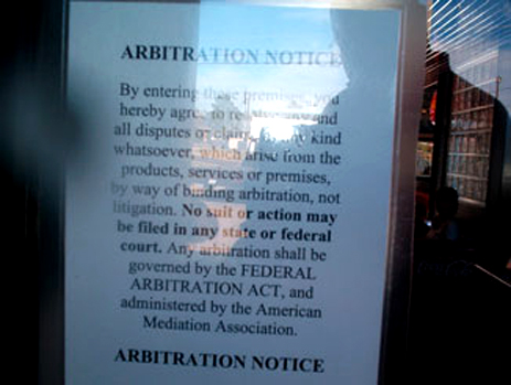 The Burger Of Mandatory Binding Arbitration