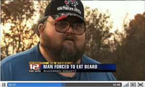 Man Forced To Eat Own Beard In Botched Lawnmower Sale