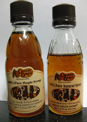 Cracker Barrel Maple Syrup Struck By Shrink Ray And Sugar Ray