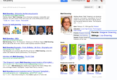Google Update Begins Transition From Search Engine To 'Knowledge Engine'