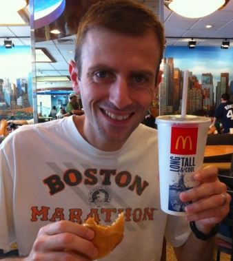 Man Trains For Marathon While Eating McDonald's-Only Diet