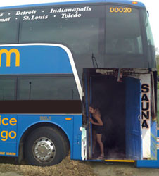7.5 Sweltering Hours On A Bus: The MegaSauna Rides Again, Gets Lost