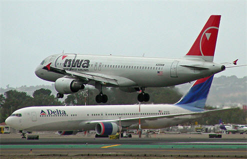 Northwest Airlines And Delta Merge, Finally