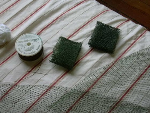 Make Scouring Pads From Mesh Produce Bags