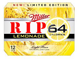 MGD 64 Lemonade Dies An Early Death