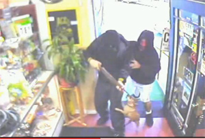 Chihuahua Emasculates Armed Robbers