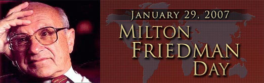 January 29 Is Milton Friedman Day