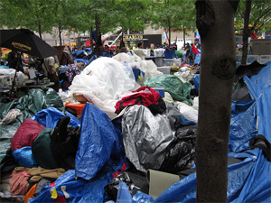 Zuccotti Park Cleanup Called Off, Occupy Wall Street Protesters Remain