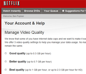 Netflix Lets You Downgrade Video Quality So You Don't Hit Bandwidth Caps