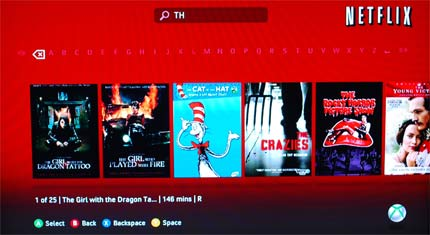 Now You Can Finally Search Netflix On Xbox 360