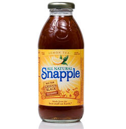 Snapple To Switch To Real Sugar Instead Of HFCS