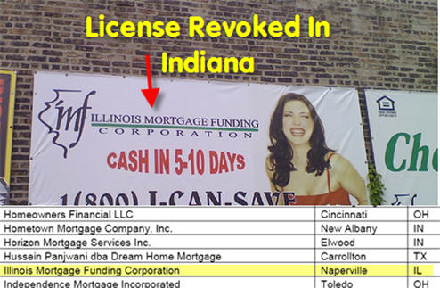 Oh Sh*t! 40% Of Indiana's Mortgage Brokers Lose Their Licenses