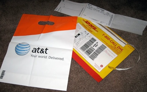 AT&T Shipped Me An Empty Plastic Bag Instead Of An iPhone!
