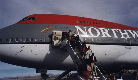 Travel Tip: Avoid Northwest Airlines at End of Month