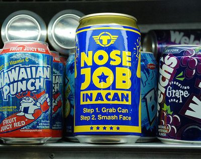buy yourself a nose job in a can a bulimia bar consumerist